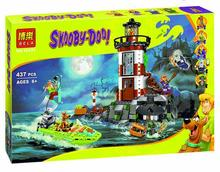Bela 10431 Haunted Lighthouse Scooby Doo Model Minifigures Bricks Blocks 3D Kids Toy Gifts Compatible With Lego Brinquedo