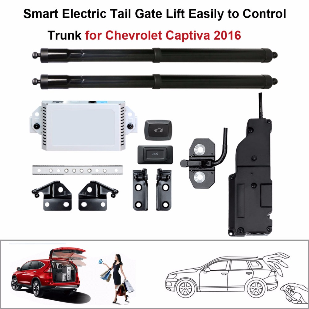 Smart Auto Electric Tail Gate Lift for Chevrolet Captiva 2016 Control Set Height Avoid P ...