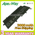 Apexway NEW 4 Cell 3000mAh REPLACE PA5013U-1BRS PA5013U laptop battery For Toshiba Portege Z830 Z835 Z930 Z935 Ultrabook Series