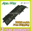 Apexway nueva 4 cell 3000 mah reemplazar pa5013u-1brs pa5013u batería del ordenador portátil para toshiba portege z830 z835 z930 z935 ultrabook series