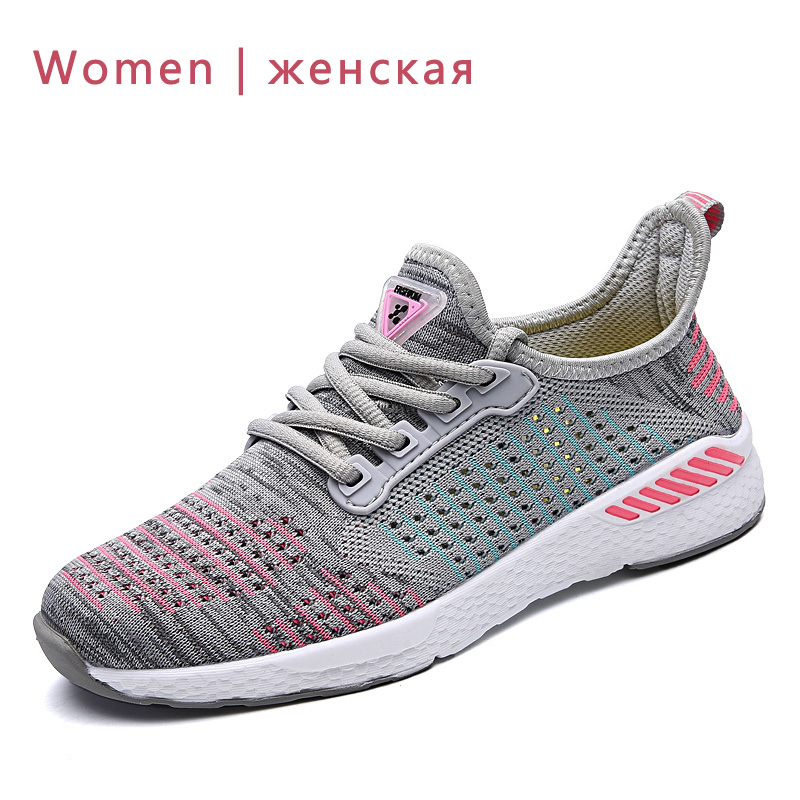 2019 New Men Shoes Lac-up Men Casual Shoes Lightweight Comfortable Breathable Couple Walking Sneakers Feminino Zapatos