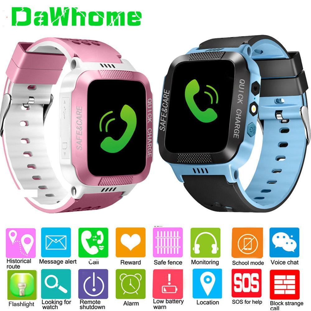 Kids Watch Track Girl Wrist Fitness Sports Call LBS Smart for Boy Safe-Care Safe-Care