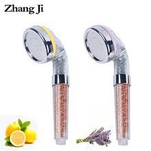 ZhangJi Fragrance SPA Anion Showerhead 8cm Vitamin C Filter Cartridge Lemon/Lavender Scent Skin care Handheld Perfume Showerhead