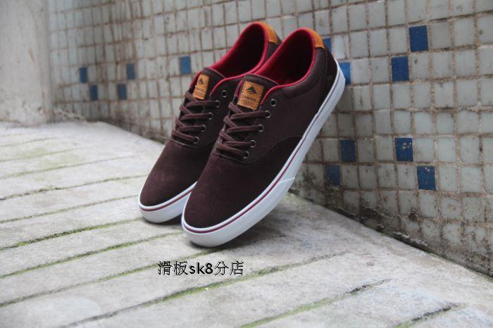 ФОТО 2016 High Quality kids Sneaker Shoes Emerica Provost Slim Vulc Footwear Rubber Hard-Wearing Shoes