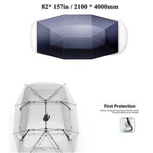 Image 5 - แบบพกพาอัตโนมัติรถร่มรถกลางแจ้งเต็นท์หลังคาUVชุดป้องกันดวงอาทิตย์Shadeด้วยรีโมทคอนโทรล