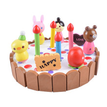 Mother Garden strawberry simulation every family had a small wooden cartoon birthday cake