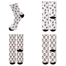 Funny Cartoon Pattern Socks Womens Mens Street funky Long Sock harajuku Fashion Popular Novelty 8ZWL03