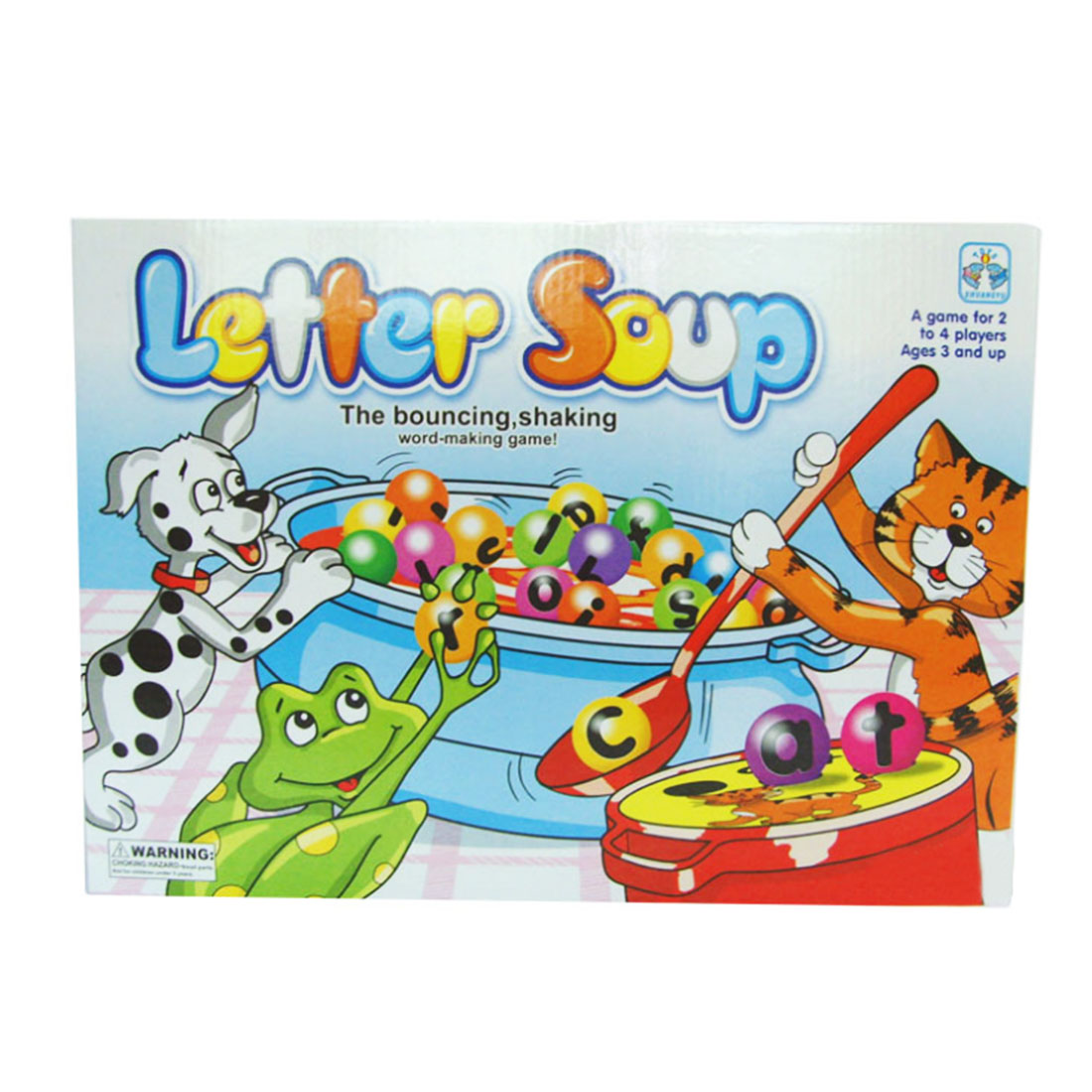 Plastic Letter Soup Matching Word Board Game Electronic Educational