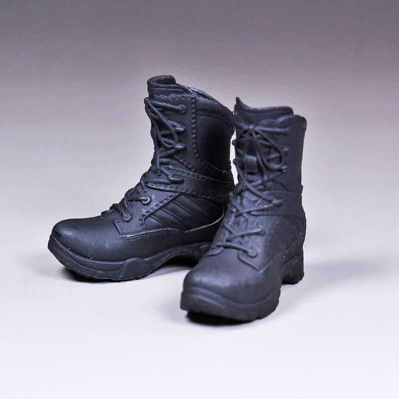 1//6 action figure toys VF003 In the brown boots Military boots in the hollow