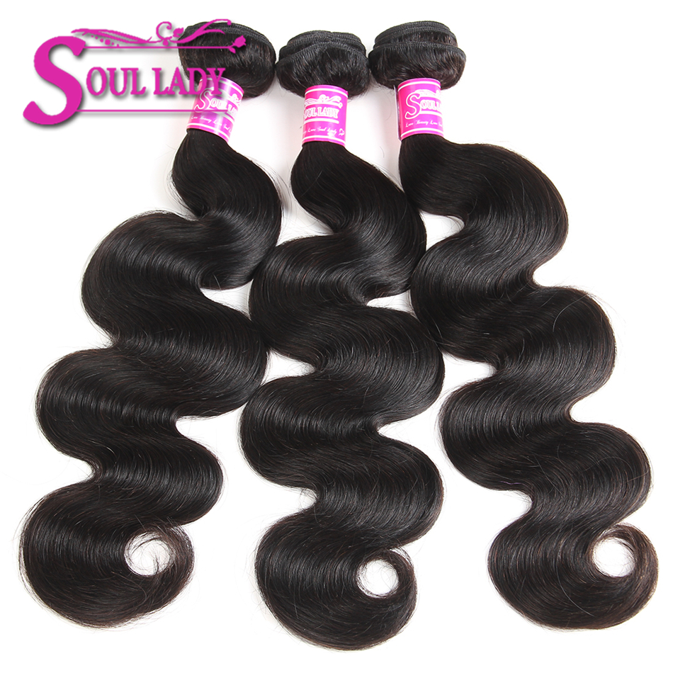 Hair-Weave-Bundles Body-Wave Deals Soul Lady Brazilian 8-28inch Non-Remy