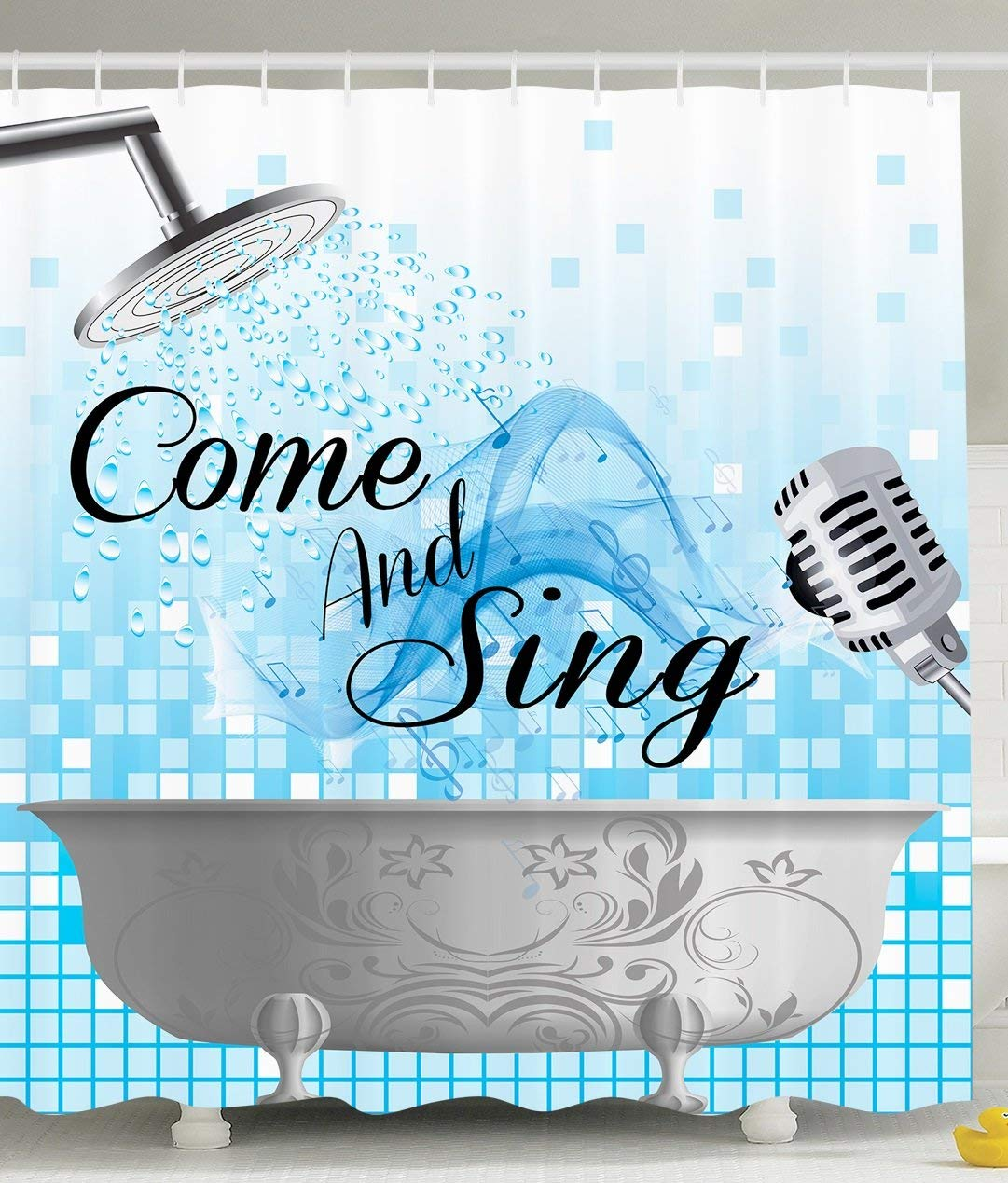 Aliexpress.com : Buy Funny Shower Curtain Quotes Come And