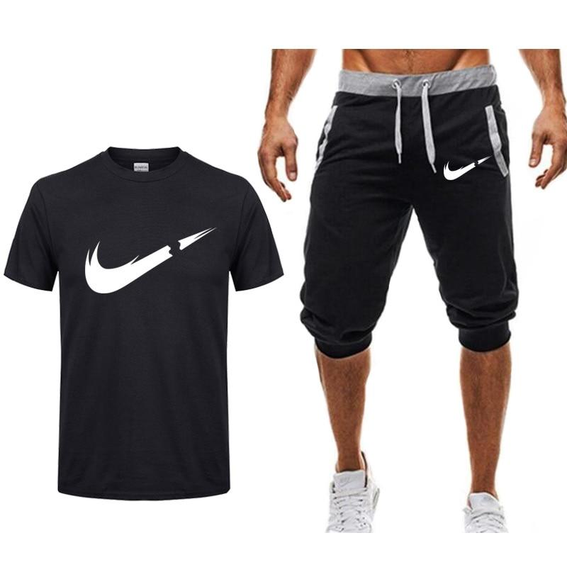 Camisetas Camiseta Verano Casual Trajes Conjuntos Hombre 2019 Estampados Nuevos De Batman Nw8vmn0