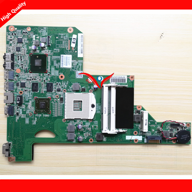 Fit for HP G62 CQ62 Laptop Motherboard HM55 615382-001 100% Tested working with warranty