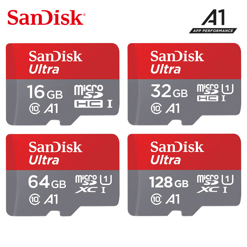 SanDisk Micro Sd 200GB 128GB 64GB 32GB 16GB Up To 98mb/s TF Usb Flash Memory Card Microsd For Smartphone Tablet PC