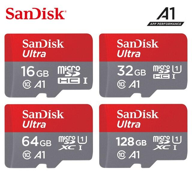 Thẻ nhớ Sandisk Micro SD 200 GB 128 GB 64 GB 32 GB 16 GB đến 98 MB/giây TF USB Flash thẻ nhớ MicroSD 8 GB Class4 cho Smartphone máy tính bảng
