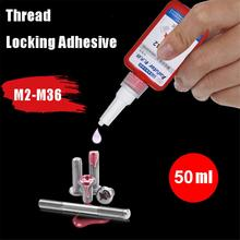 50ML Screw Glue Thread Locking Agent Blue Liquid Glue Anti Rust Anaerobic Adhesive Oil Resistance Fast Curing