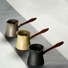 TANGPIN coffee and tea tools ceramic tea pitchers chinese kung fu tea accessories tangpin coffee and tea tools copper tea strainers handmade kung fu tea accessories