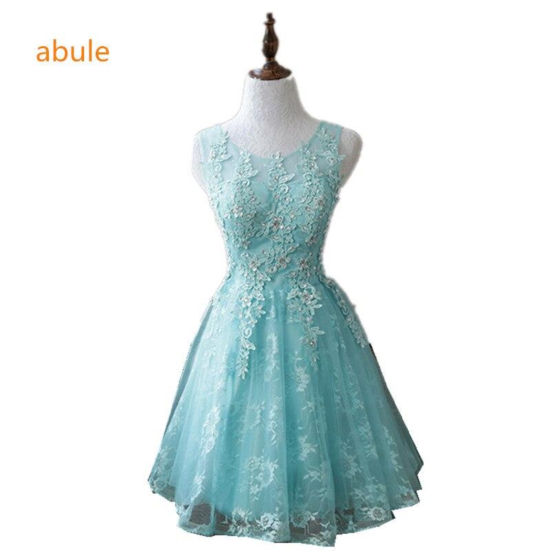 c9a8aa9bd0 Abule zielony Suknie Wieczorowe Kobiety LACE UP Suknia 2018 Lato Style  Specjalne Okazje Suknie szata de wieczór vestido de festa