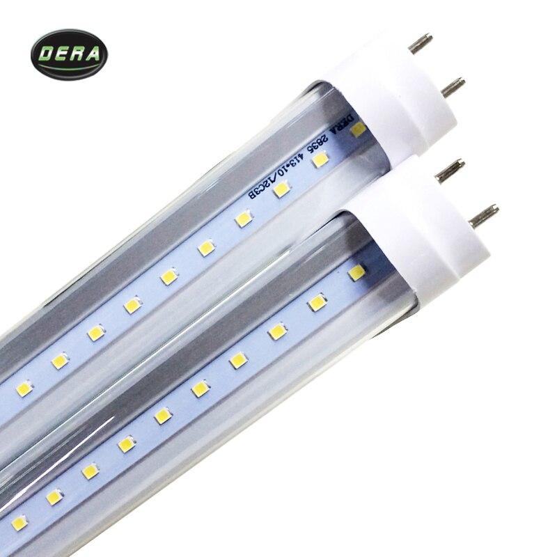25/50 шт T8 2FT 600 мм 9 w Светодиодный свет пробки SMD 2835 супер Яркость AC110 277V lamparas светодиодная флуоресцентная лампа трубы 604 мм - 2