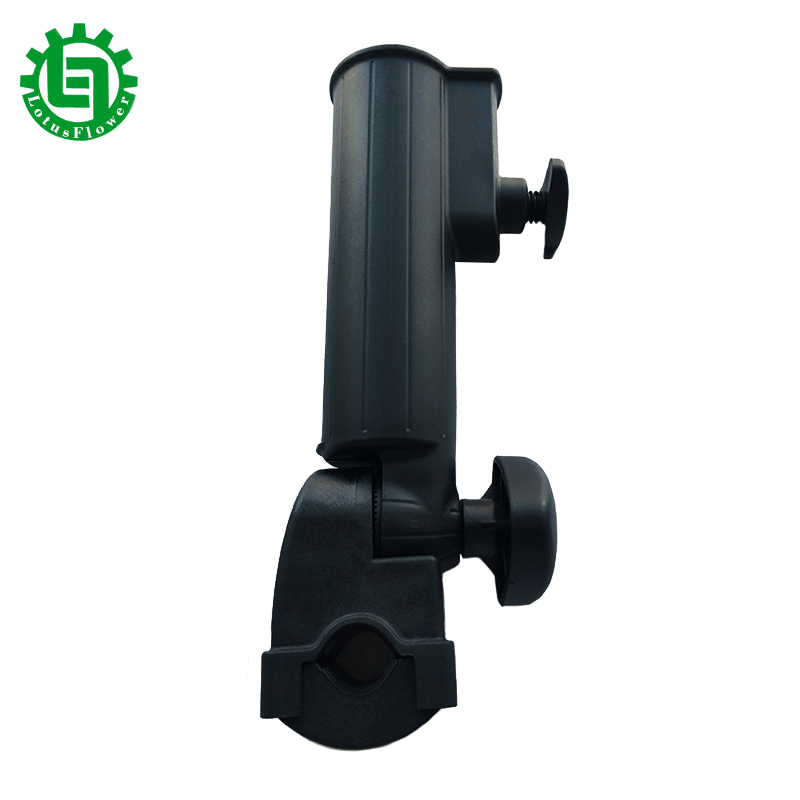 Titular do guarda-chuva do carrinho de golfe de alta qualidade Preto PP Plastic Golf Club Push Pull Cart Trolley Car Holder Umbrella Stands