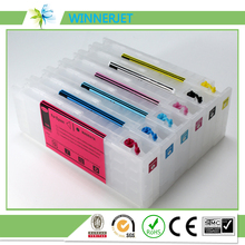 Winnerjet T6941-T6945 Empty Refillable Cartridge for Epson Surecolor SC T3200 T5200 T7200 Printer 5 color 700ml refillable ink cartridge for epson t3200 t5200 t7200 printer plotter with permanent chip