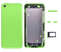 Top Qualité Logement Retour Couvercle de La Batterie Lunette Cadre Châssis Pour iPhone 5C Cadre Moyen avec Boutons Assemblée pièces livraison gratuite