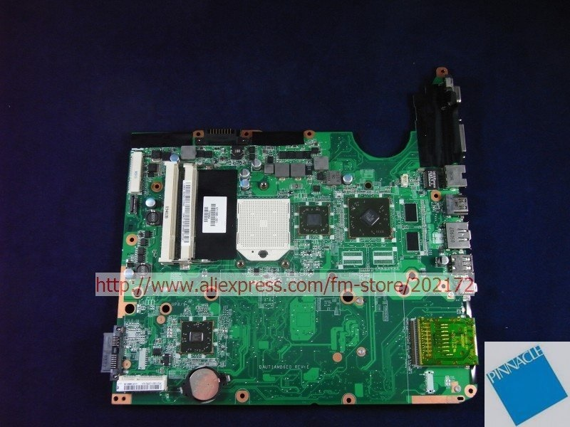 571188-001  Motherboard for HP Pavilion DV6 DAUT1AMB6E0 UT1  tested good 574680 001 1gb system board fit hp pavilion dv7 3089nr dv7 3000 series notebook pc motherboard 100% working