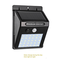цена на Waterproof 30 LED Solar Light 2835 SMD White Solar Power Outdoor Garden Light PIR Motion Sensor Pathway Wall Lamp street wall sp