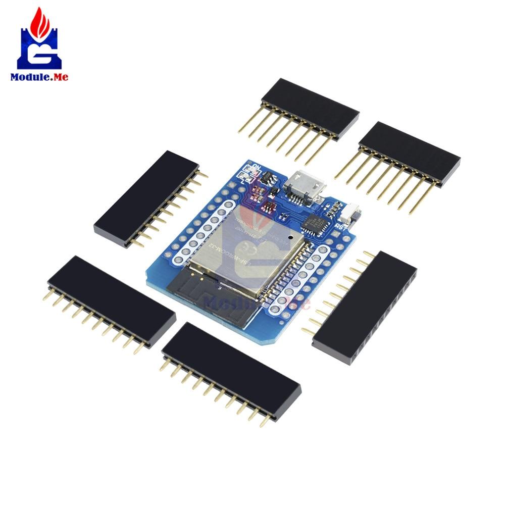 ESP8266 ESP32 ESP-32S WIFI Bluetooth Module CP2104 Development Board Module with Pins for Arduino WeMos D1 Mini DIY KitESP8266 ESP32 ESP-32S WIFI Bluetooth Module CP2104 Development Board Module with Pins for Arduino WeMos D1 Mini DIY Kit