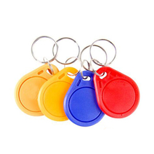 100pcs 3# 13.56MHz RFID IC Key Tags Keyfobs Token NFC TAG Keychain For Compatible S 50