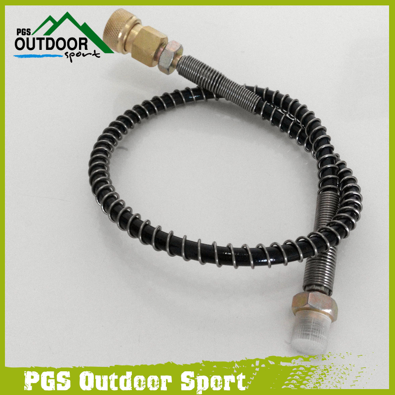 Image 2 - PCP/Auto Hand Pump Hose for Refill 64Mpa/9000PSI with 8mm Quick Connector-in Paintball Accessories from Sports & Entertainment