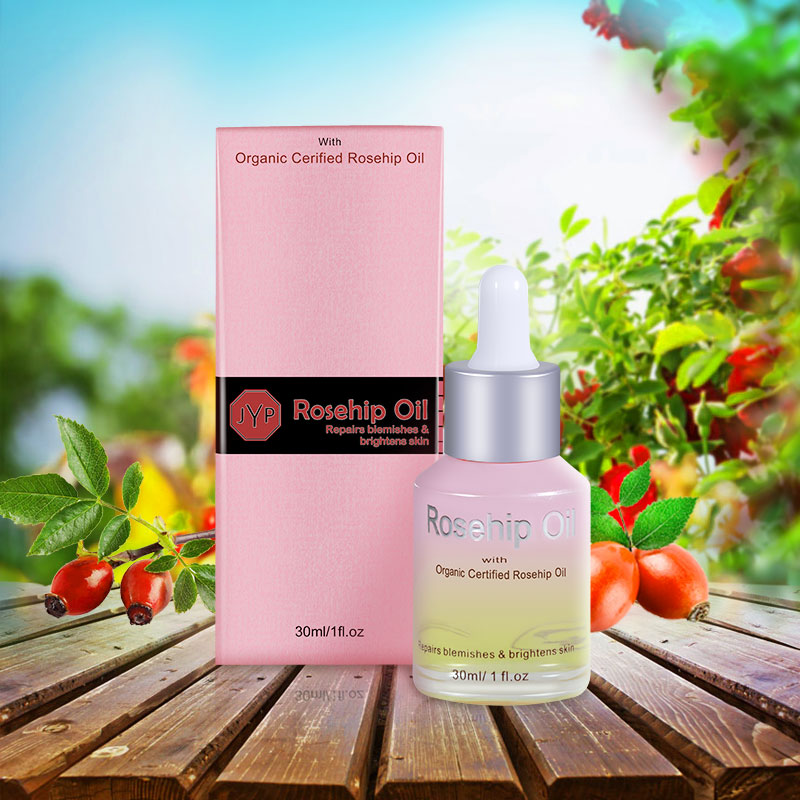 JYP Organic Rosehip Oil for Scars Stretch Marks Fine Lines Anti Wrinkles Dehydrated Ageing Skin Brightening
