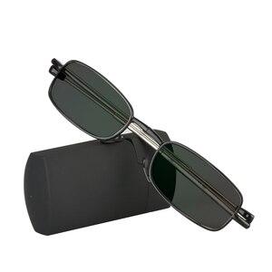 Image 2 - SWOKENCE SPH  0.5 To  4.0 Photochromic Grey Sunglasses Glasses For Myopia Men Women Foldable Spectacles For Nearsighted SC99