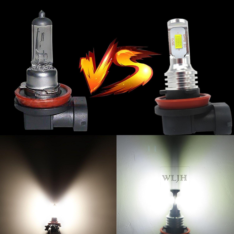 Image 4 - WLJH 2x Canbus 12V 24V H8 Led Bulb Fog Lamp Bulb H8 Light For BMW E39 E46 E60 E70 E72 E90 E92 E93 E81 E82 E84 F10 F15 F20 F25-in Car Fog Lamp from Automobiles & Motorcycles