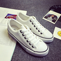 Más el Tamaño 44 de los zapatos de Lona de los hombres Atan Para Arriba Ocasional unisex zapatos 2017 de Primavera y Otoño Suela antideslizante Marca de Moda Caliente de La Venta estrella
