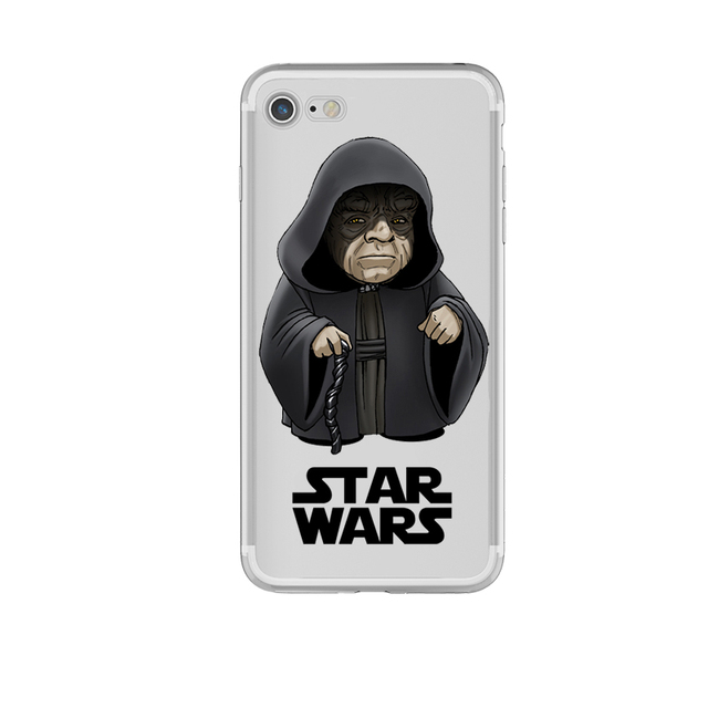 Star Wars Clear Silicone Case iPhone (11 Styles)