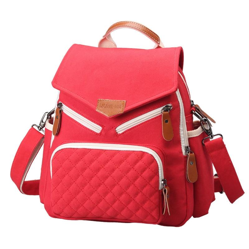 New style Nylon Multifunction Mummy Backpack waterproof Large capacity travel mummy bag diaper bag