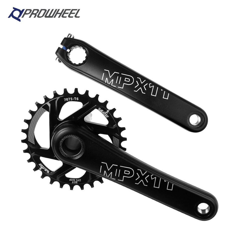 PROWHEEL MPX11 Mountain Bike Crank sprocket 8 9 10 11 12 Speed 170 175mm Compatible SRAM