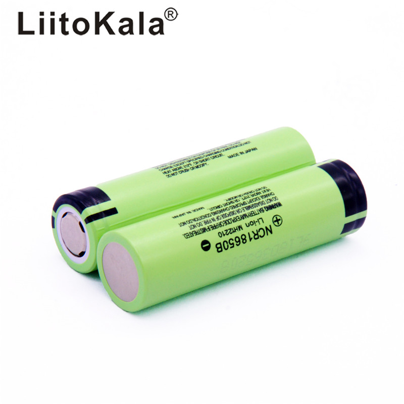 100 pieces original liitokala NCR18650B 3.7 V 3400 mAh 18650 3400 mAh rechargeable lithium battery чайник электрический vitek vt 1129 tr