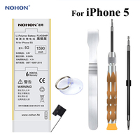 NOHON Li Polymer Battery For Apple IPhone 5 Not For 5C 5S Real High Capacity 3