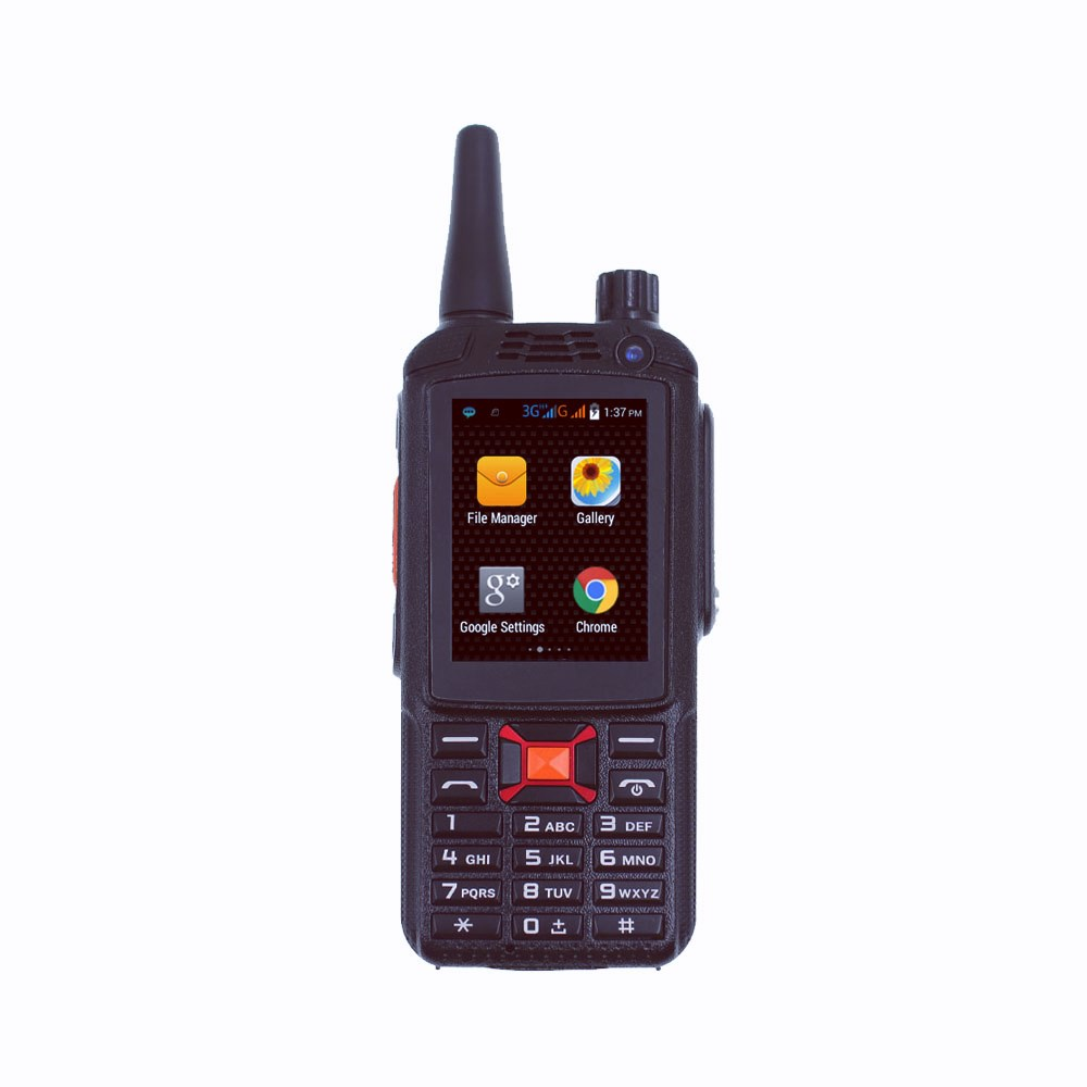 3G Network Wifi Radio WCDMA GSM Mobile Phone G22 F22 Zello PTT Dual Card Android Walkie