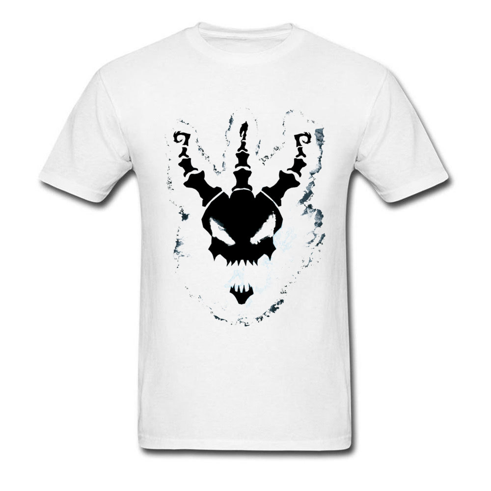Thresh League Of Legend Man Oversized Geek Tees Round Collar NEW YEAR DAY Jojo T Shirt Casual Short Portal Tops & Tees