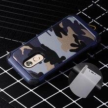 Полный Защитный чехол для Xiaomi Redmi Note 4 армия камуфляж Броня задняя крышка + Защитное стекло для Redmi Note 4 чехол телефона