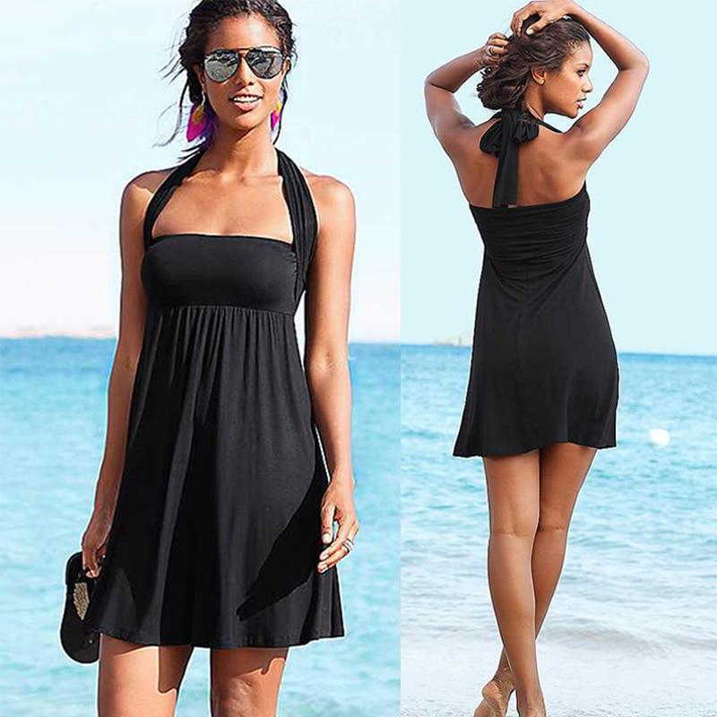 Popular Designer Vintage 2017 Multi Wear Beach Cover Up Wears Converitble Infinite Women Summer Beach Dress S.M.L.XL 1