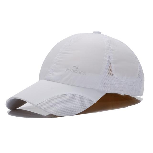 Absorção do suor seca rápida respirável fina de algodão boné de beisebol esporte chapéu cozy lazer compras chapéu de sol femininos acolhedor ajustar
