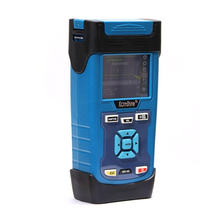 FTTH Fibra Ottica KOMSHINE QX45 SM 1310/1550nm 32/30dB OTDR, Touch Screen OTDR come JDSU