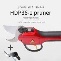 HDP36 1 секатор + выполните запасных лезвий продвижение ссылка сад и огород электрические ножницы с батареей секаторы