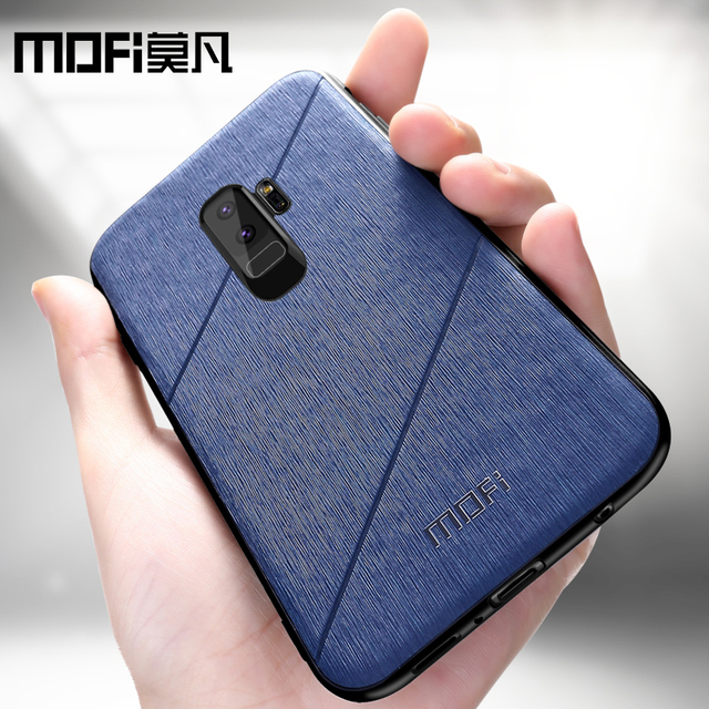 MOFi Samsung Galaxy S9 S9 Plus Luxury Business Style Shockproof Back Case Cover