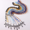Free shipping Rosary Necklace, Acrylic rosary ,Luminous rosary Religious rosary more  color  for you choose 10 pcs/lot