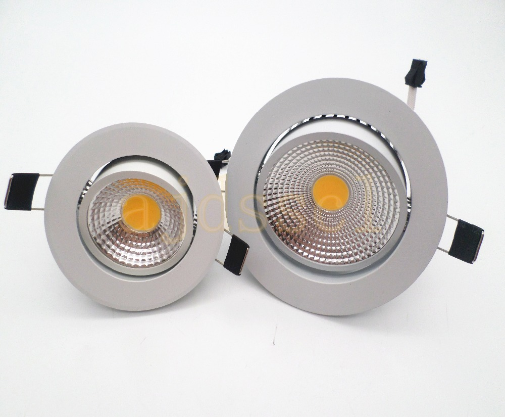 Spots Led Decke Led Spot Led Downlight Dimmable Cob Bright Recessed 9w 12w 15w 21w